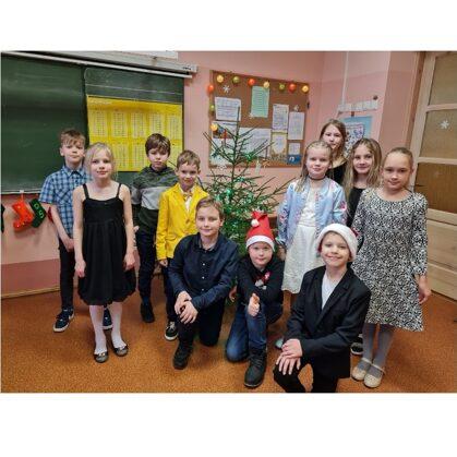 3.klases skolēni Ziemassvētku noskaņās!